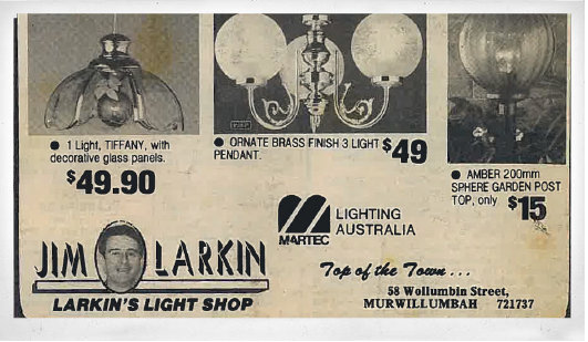 Larkin Electrical Back In The Day